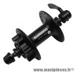 Moyeu VTT m475 disc noir 36t. avant marque Shimano - Matériel pour Vélo