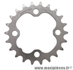 Plateau 22 dents VTT triple deore m510/lx m580 9v. acier 4 branches marque Shimano - Matériel pour Vélo