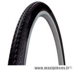 Pneu de vélo city 650x35a world tour blanc/noir tr (26x1 3/8) (35-590) marque Michelin - Pièce Vélo