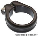 Collier serrage tige de selle chc alu noir mat diamètre 28,6mm marque Newton - Pièce Vélo