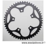 Plateau 51 dents route d.110 compact extérieur dural noir marque Stronglight - Pièce Vélo