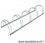 Garage 5 vélos (lg150xl46xh34cm) - Accessoire Vélo Pas Cher