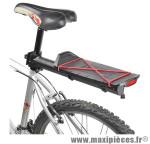 Porte bagage arrière a fixation rapide rodeo alu noir (sur tige de selle) marque Zéfal - Matériel pour Cycle