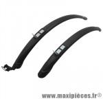 Garde boue city/VTC rapide 28 pouces trail 45mm noir (paire) marque Zéfal - Matériel pour Cycle
