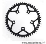 Plateau 51 dents route d.110 compact campa ultra torque ext noir marque Stronglight - Pièce Vélo