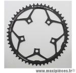 Plateau 51 dents route d.110 compact extérieur noir ct2 10/11v. marque Stronglight - Pièce Vélo