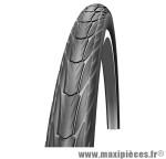 Pneu de vélo city/VTC Schwalbe Delta Cruiser 28x1 1/2 pouces 700x38B noir (ETRTO 40-635) HS392