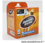 Prix spécial ! Chambre à air Michelin Downhill Racing 26x2,2 à 2,8 valve Presta C6 40mm 392g