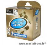 Prix spécial ! Chambre à air Michelin AirComp Mountain 26x2,2 à 2,8 valve Presta C5 40mm 250g