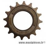 Roue libre 1 vitesses 16d. bronze - Accessoire Vélo Pas Cher