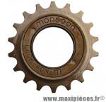 Roue libre 1 vitesses 18d. bronze - Accessoire Vélo Pas Cher