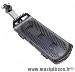 Porte bagage arrière a fixation rapide alu noir (sur tige de selle) - Accessoire Vélo Pas Cher