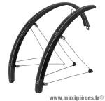 Garde boue city/VTC tringles 26 pouces 54mm noir (paire) marque Stronglight - Pièce Vélo
