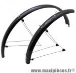 Garde boue VTT tringles 26 pouces 60mm noir (paire) marque Stronglight - Pièce Vélo