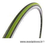 Pneu pour vélo de route 700x23 rubino pro 3 noir/vert (protection anti-crevaison) 150tpi 225g ts (23-622) marque Vittoria - Pièce Vélo