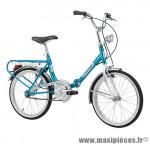 Vélo pliant 20 firenze acier monovitesse bleu (taille 38) marque Cinzia - Vélo - Autres vélos complet