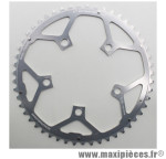 Plateau 51 dents route d.110 compact campa ultra torque ext argent alu marque Stronglight - Pièce Vélo