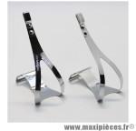 Cale pied route acier classic l/xl pour courroie (paire) marque Zéfal - Matériel pour Cycle