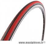 Pneu pour vélo de route 700x23 rubino pro 3 noir/rouge (protection anti-crevaison) 150tpi 225g ts (23-622) marque Vittoria - Pièce Vélo