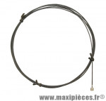 Cable de dérailleur inox téflon réaction pour shimano et adaptable 1,1mm 2,10m - Accessoire Vélo Pas Cher