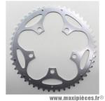 Plateau 51 dents route d.110 compact extérieur dural argent marque Stronglight - Pièce Vélo