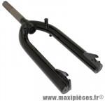 Fourche BMX acier noir pivot filete 1 pouce 1/8-25,4 intérieur - Accessoire Vélo Pas Cher