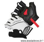 Gant de vélo été air zone gel blanc L protect canal carpien (paire) marque Chiba - Equipement Vélo