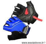 Gant de vélo été air zone gel bleu XL protect canal carpien (paire) marque Chiba - Equipement Vélo