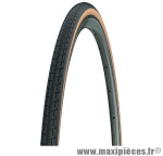 Pneu pour vélo de route 700x20 dynamic classic noir/bleige tr (20-622) marque Michelin - Pièce Vélo