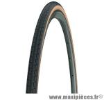 Pneu pour vélo de route 700x23 dynamic classic noir/bleige tr (23-622) marque Michelin - Pièce Vélo