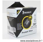 Prix spécial ! Chambre à air Michelin Protek Max 26 x 1.85 à 2.30 valve Presta C4 40mm