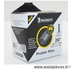 Prix spécial ! Chambre à air Michelin Protek Max 26 x 1.85 à 2.30 valve Schrader C4 35mm