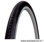Pneu de vélo city/VTC 700x35 world tour blanc/noir tr (28x1,40) (35-622) marque Michelin - Pièce Vélo