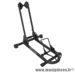Présentoir 1 vélo automatique avec système ressort pour tous modèle 12 a 29 pouces noir -Pièce Vélo Top Qualité
