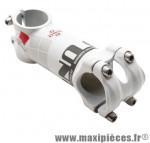 Potence route alu 6061 blanc réversible 7° 31,8 l 80mm marque Uno - Matériel pour Cycle