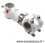 Potence route alu 6061 blanc réversible 7° 31,8 l100mm marque Uno - Matériel pour Cycle