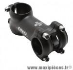 Potence VTT flip flop alu 6061 noir mat réversible +/-7° 25,4 l 80mm marque Uno - Matériel pour Cycle
