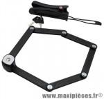 Antivol vélo pliable a fs300 l 85cm noir type couteau marque Trelock - Accessoire Vélo