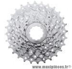 Cassette 8 vitesses 11-28 marque Sunrace - Matériel pour Vélo