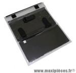 Porte carte noir/gris fixation velcro (24x24cm) marque Newton - Pièce Vélo
