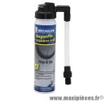 Bombe anti-crevaison stop&go presta/schrader pour tubeless/tubetype (75ml) marque Michelin - Pièce Vélo
