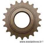 Roue libre 1 vitesses 20d. bronze - Accessoire Vélo Pas Cher