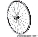 Roue route 700 versus arrière noir moy reflex roulement pour shimano 11/10/9v ray noir 28t marque Vélox - Pièce Vélo