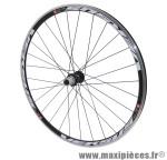 Roue route 700 versus arrière noir moy reflex roulement pour campagnolo 11/10/9v ray noir marque Vélox - Pièce Vélo