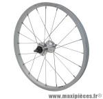 Prix spécial ! Roue Ville 450A junior arrière roue libre moyeu acier axe plein (vendu sans écrous)