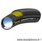 Boyau 700x22 compétition noir/noir 270g 240tpi marque Continental - Pièce Vélo