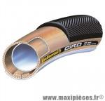 Boyau 700x22 giro noir/transparent 300g 160tpi marque Continental - Pièce Vélo