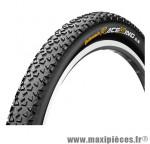 Pneu de VTT 26x2.00 race king noir/noir tr (50-559) marque Continental - Pièce Vélo