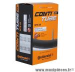 Chambre à air de vélo et de dimensions 29x1.75-2.50 valve presta marque Continental - Pièce Vélo
