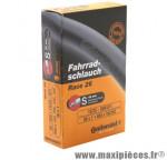 Chambre à air de vélo et de dimensions 650x20-25 valve presta marque Continental - Pièce Vélo